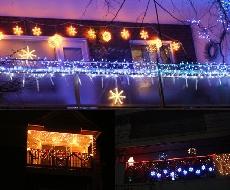 Como decorar sacada para o Natal