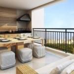 A varanda gourmet é um ambiente residencial novo, mas que já faz sucesso.