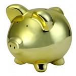 Cofre de porco dourado (Foto:Divulgação)