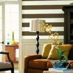 Listras deixam o espaço vertical mais moderno e sofisticado.
