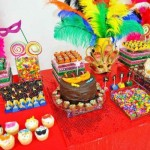 Aniversário com tema carnaval. (Foto: Divulgação)