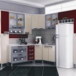 Móveis planejados para cozinha possuem o encaixe perfeito para eletrodomésticos.