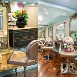 Salão de beleza com decoração totalmente retrô. (Foto: Divulgação)