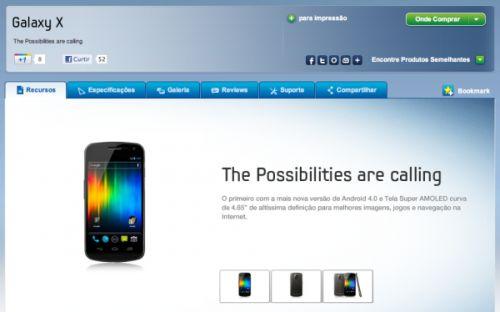 Galaxy X – modelos, fotos, preços