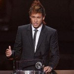 Premiação Rei da América – Neymar recebe prêmio
