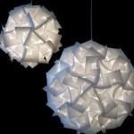 Lustres na forma de esfera