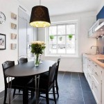 O lustre pode ser usado em um ambiente moderno da casa