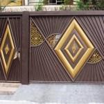Os portões deixam a fachada da casa muito mais bonita