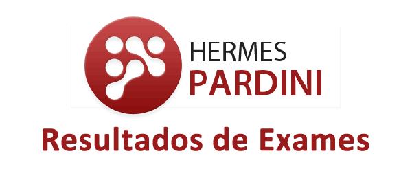 Hermes pardini resultados exames