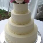 Bolo de casamento simples(Foto:Divulgação)