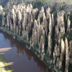 Floresta entre as ruínas de pedras (Foto:Divulgação)