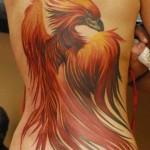 Tatuagem de fênix (Foto:Divulgação)