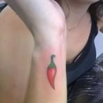 Tatuagem de pimenta (Foto:Divulgação)