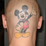 Tatuagem do Mickey  (Foto:Divulgação)