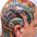 Tatuagem de encanamento  (Foto:Divulgação)