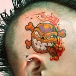Tatuagem de Caveira  (Foto:Divulgação)