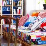 Deixe os ambientes mais alegres e coloridos com os retalhos de tecidos.