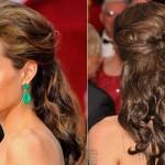 Angelina Jolie usando o tão famoso penteado