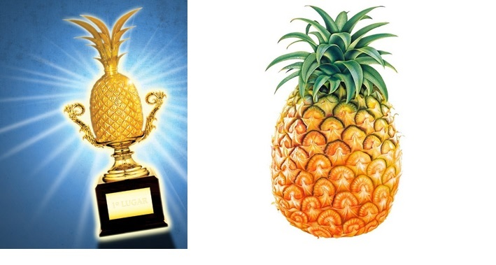 trofeu abacaxi para amigos nervosinhos