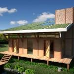 Projeto de casa ecológica