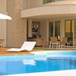 Planta de casas com piscina