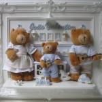 Enfeite família urso musical (Foto:Divulgação)
