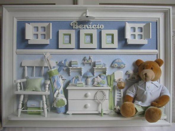 Enfeites para porta de maternidade: fotos