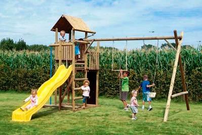 Crianças em parques: cuidados