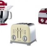 Batedeira, torradeira e rádio