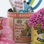 Embalagens de época também ganham espaço na decoração