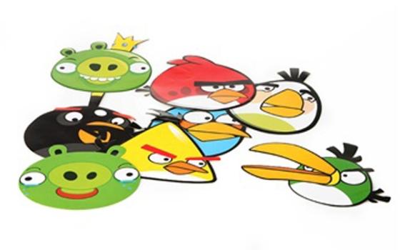 Colorido Angry Birds Personagens Vector: Angry Birds Na Decoração: Dicas, Fotos