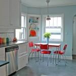 Cozinha retrô colorida (Foto:Divulgaçao)