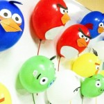 Balões Angry Birds