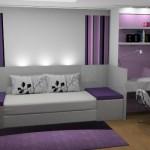 Apesar de mais caros, os móveis planejados deixam o quarto personalizado.