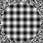 Ilusão de ótica dos pontos (Foto:Divulgação)