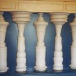 Ilusão de ótica das colunas (Foto:Divulgação)
