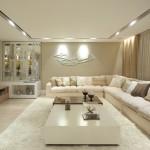 Sala de luxo com iluminação forte (Foto: Divulgação)
