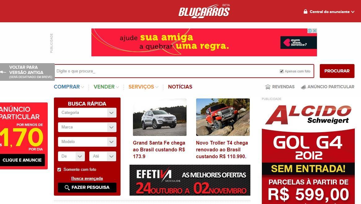 Blucarros Blumenal | www.blucarros.com.br