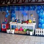 decoração de festa de anbiversário da Galinha Pintadinha