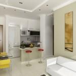 A decoração da cozinha precisa combinar com os cômodos vizinhos.