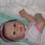 Boneca perfeita, aparência de bebê