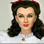 """Boneca Scarlett O'Hara de """"O Vento Levou"""""""