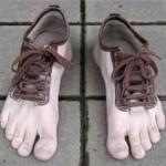 Sapato pé masculino