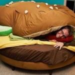 Cama hambúrguer