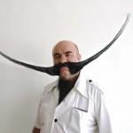 Barbas e bigodes diferentes - Estilo Espada