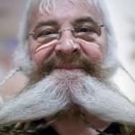 Barbas e bigodes diferentes - Barba com Trança