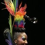 Penteados estranhos - Com Acessóros Coloridos
