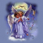 Anjos Infantis, representando a inocência