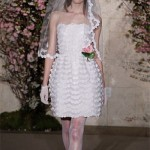 Vestido de Noiva Curto em Renda