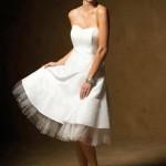 Vestidos de Noiva Curtos Simples e Delicado